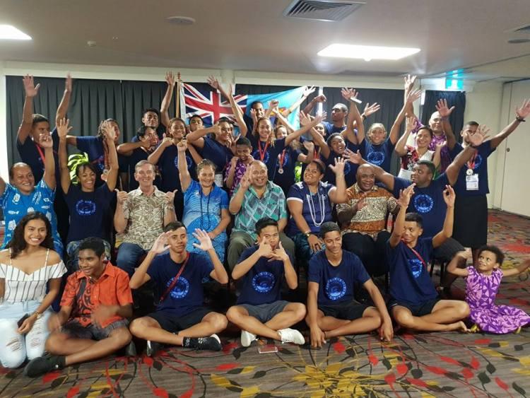 Fiji Swim Team