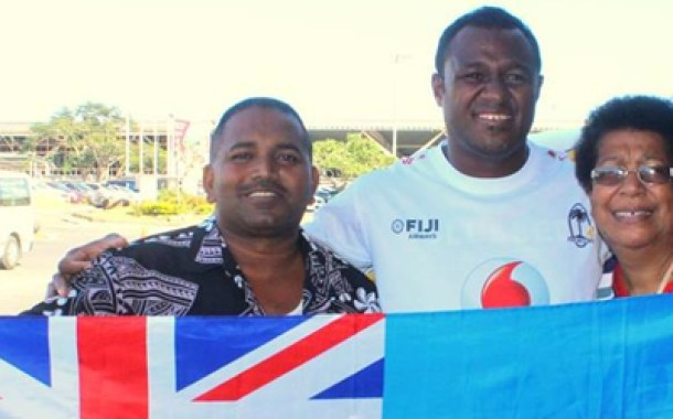 Thousands welcome Fiji 7s team at Nadi Airport