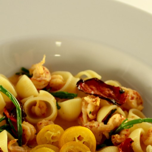 tomatenvinaigrette maken tomaat recept tomatenvinaigrette pasta met rivierkreeftjes pasta maken pasta en tomatenvinaigrette pasta Italiaanse pasta Italiaanse keuken Italiaans gerecht