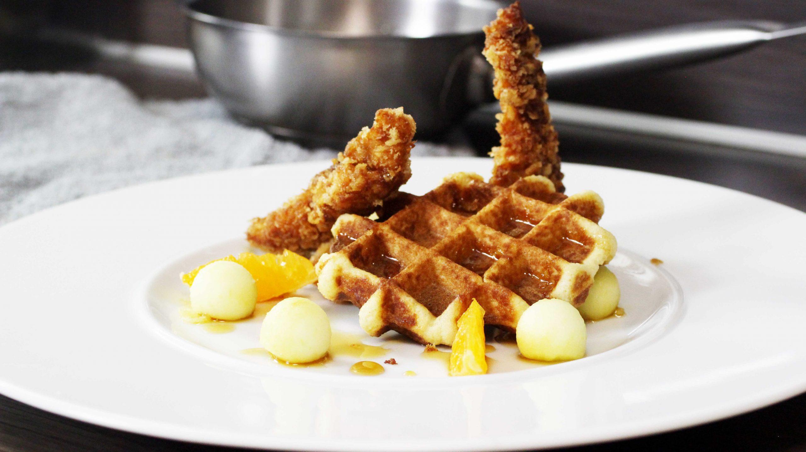 Chicken and waffles recept oftewel kip en wafels maken