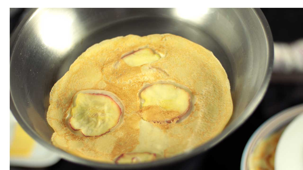 Makkelijk recept om pannenkoeken te bakken
