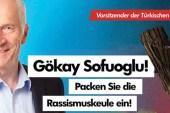 AfD den Almanya'da Türklere sopalı afiş