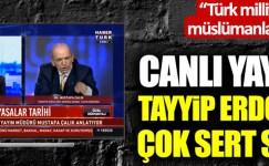 """Erdoğan'a Sert Sözler: """"Türklüğe ve Müslümanlığa küfürdür"""""""