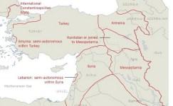 Emperyalist Ülkelerin Türkiye'yi Bölme Planı !
