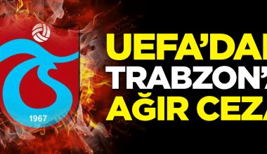 Trabzonspor Avrupa'dan 1 Yıl Men edildi…