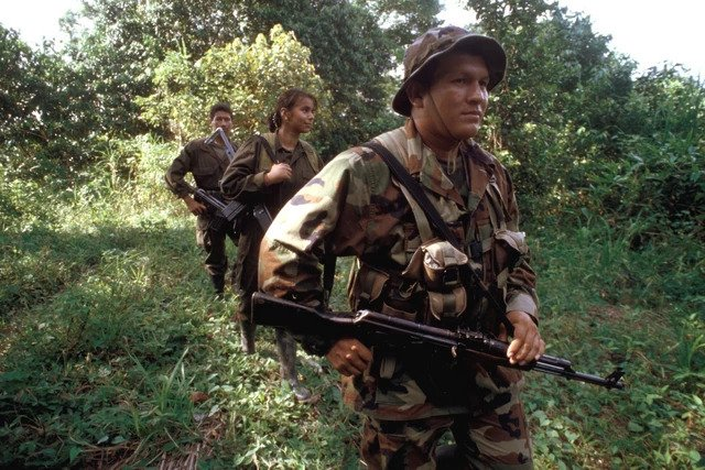 FARC gerillaları