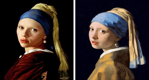 Girl with a Pearl Earring, inci küpeli kız