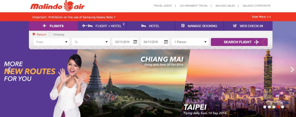 web check in malindo