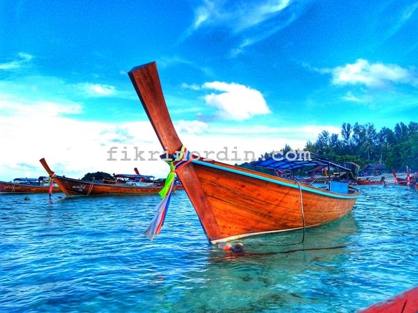 TRAVEL BAJET KE KOH LIPE THAILAND
