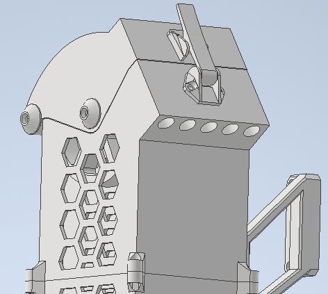 3D schematic filament buffer