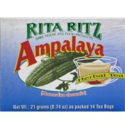 Ampalaya Tea (Rita Ritz)