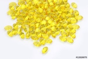 Kapsułki z witaminą D - tran