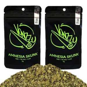 2x Susz Konopny 7% CBD Amnesia Skunk 5g Vonzzy