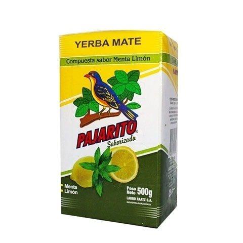 Yerba Mate Pajarito Menta Limon Cytrynowa 500g