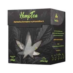 Herbatka Konopna w Piramidkach 25g Hempking