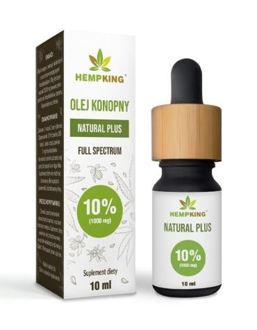 Olejek CBD Konopny 10% (1000mg) 10ml HempKing