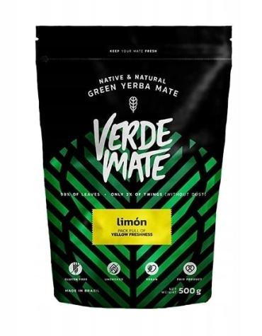 Yerba Verde Mate Green Limon Cytrynowa 500g