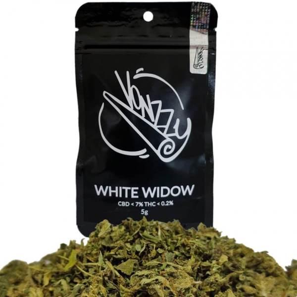 Susz CBD Konopny 7% Kwiaty White Widow 5g VONZZY