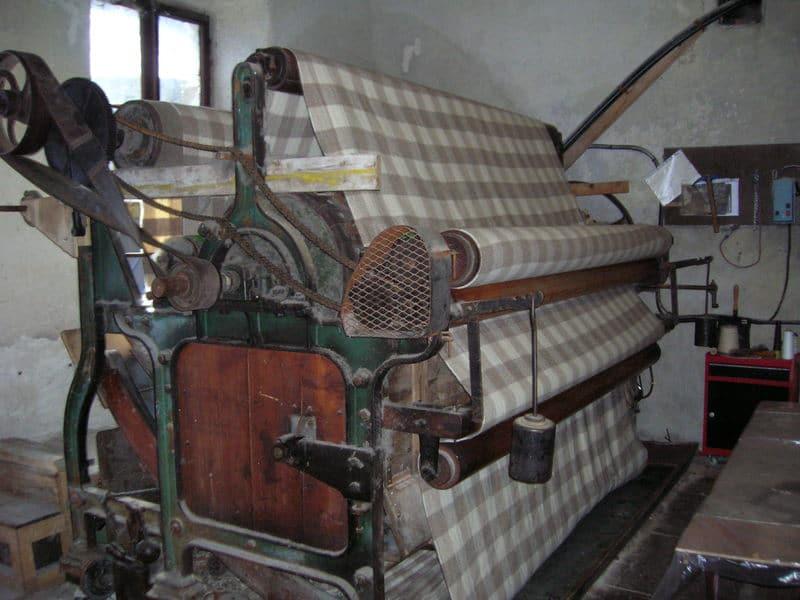 sérigraphie teinture végétale sur draps de laine mérinos