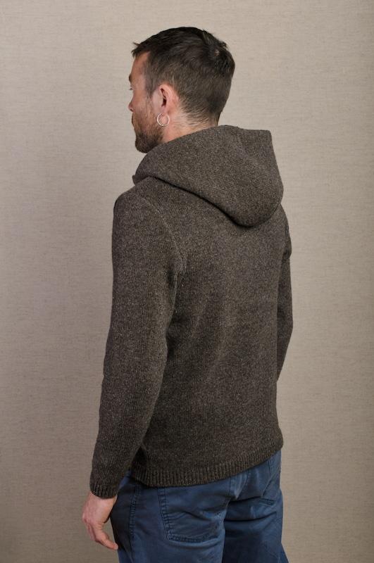 veste tricot laine jogging confortable homme