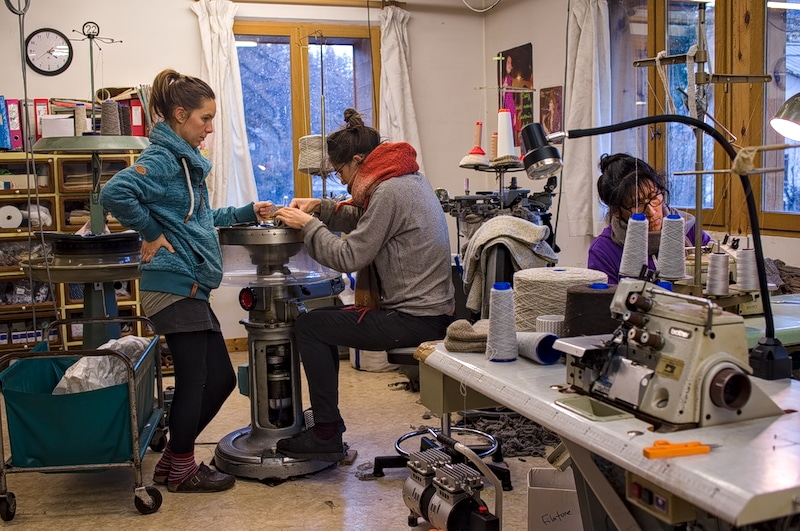 atelier de confection de la filature de chantemerle longo maï