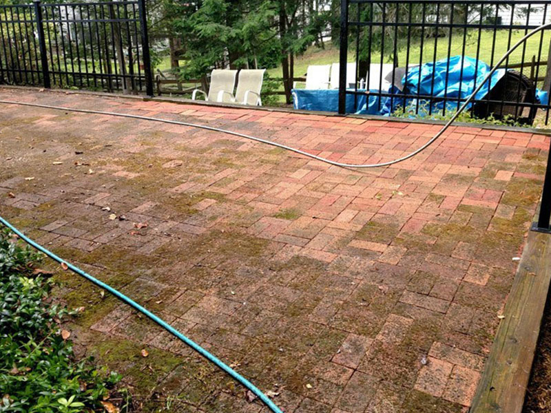 Patio Paver Wash