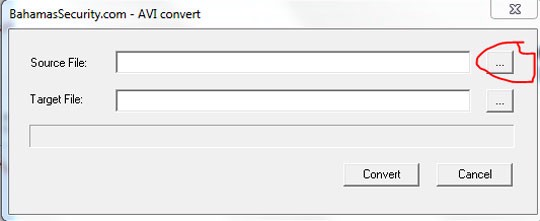 convert từ .dav to .avi