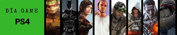 Đĩa game PS4 tháng 6