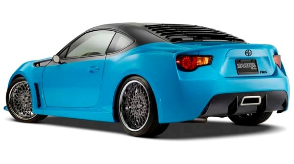 Scion FR S T1 Concept For SEMA A Preview Of Whats To