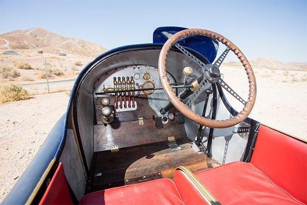 L45 Grand Prix Two-Seater driver view