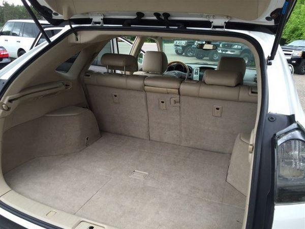 The 2005 Lexus RX330 luggage bay