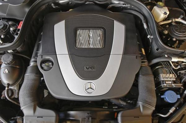 2010 Mercedes-Benz E350 engine