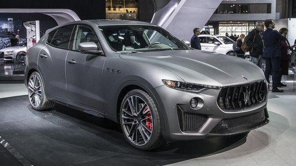 2019 Maserati Levante Trofeo At 2018 New York Auto Show