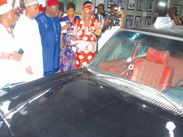 Murtala Mohammed's Mercedes-Benz attracts many tourists