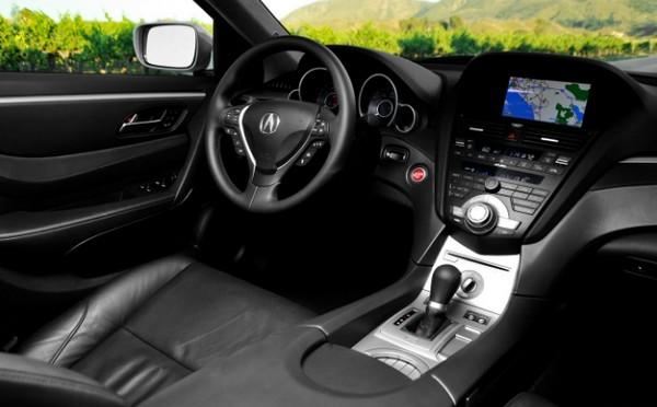 Acura ZDX 2010 interior