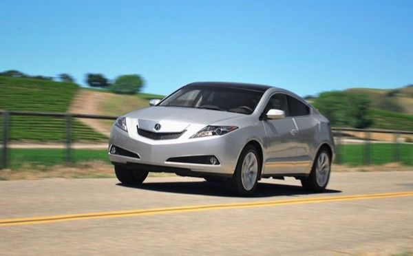 Acura ZDX 2010 on the road