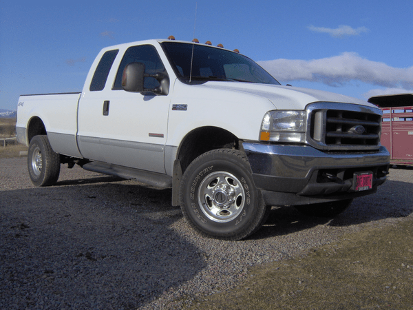 angular front of the Diesel Ford F250