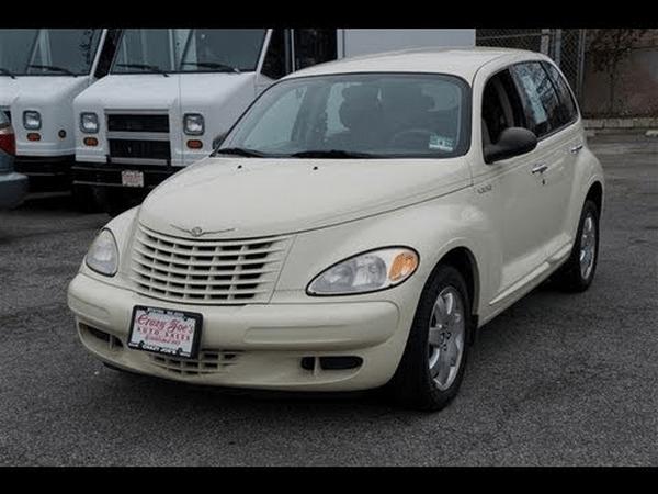 angular front of the Chrysler PT Cruiser