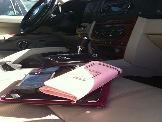 Wallet, cellphones left in the car