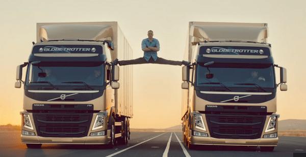 Jean Claude Van Damme in Volvo trucks commercial