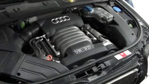 an audi's engine