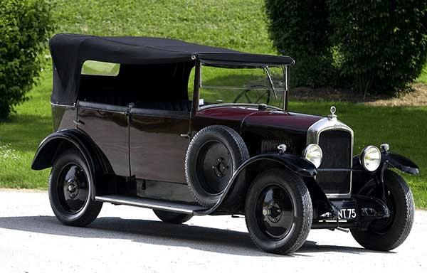 A old Peugeot