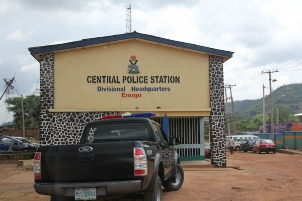 Nigerian police station in Enugu