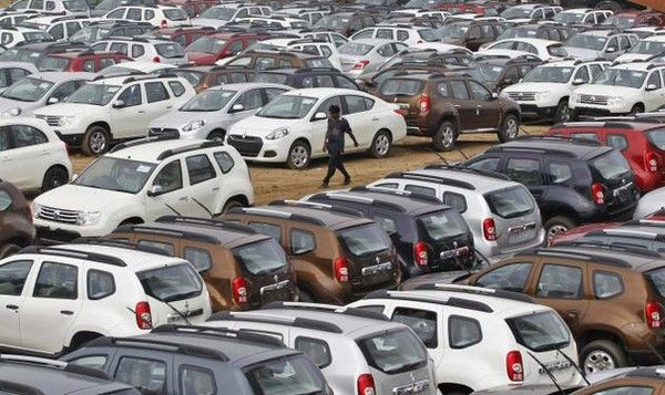 Cotonou-car-market