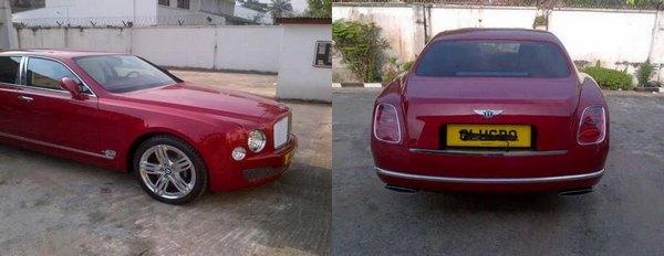 Bentley-Mulsanne-of-Olugbo of Ugbo