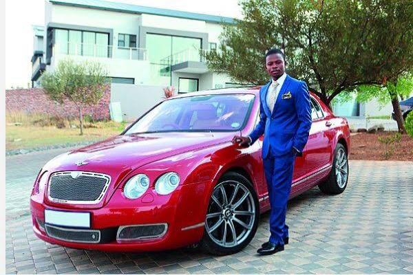 Shepherd-Bushiri-with-his-red-Bentley-Flying-Spur