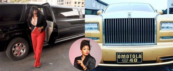 omotola-jalade-ekeinde-car-collection