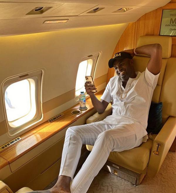 Jowi Zaza private jet