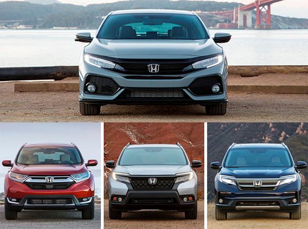 Honda-cars-front-view