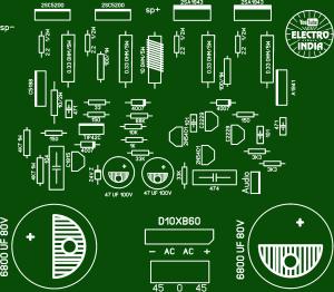 200 Watts Mono Audio Amplifier DIY  Share Project  PCBWay
